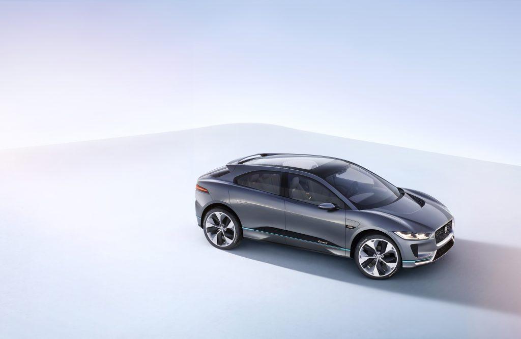 Jaguar I-Pac är en renodlad elbil.
